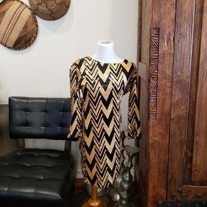 EUC Sequins cocktail dress